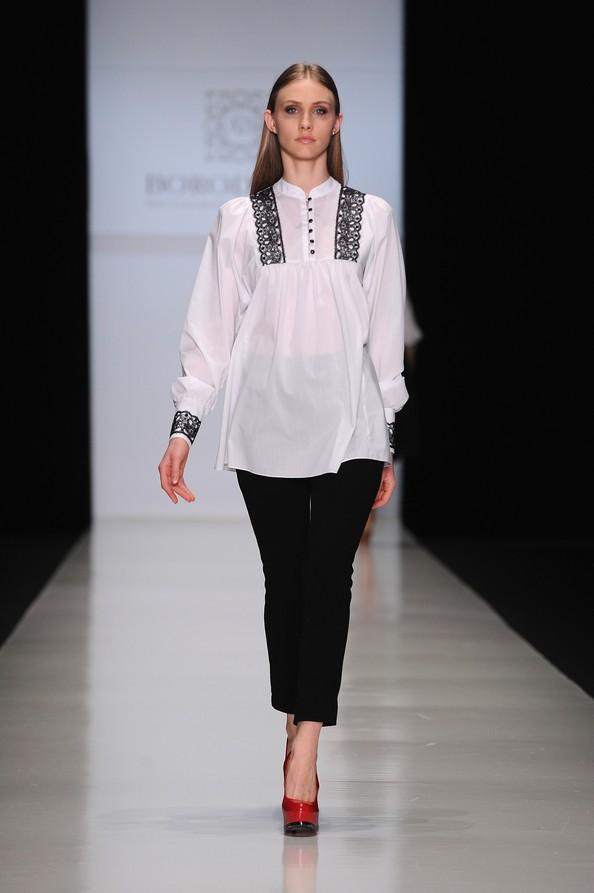 Mercedes-Benz Fashion Week у Москві: колекція BORODULIN`S. Фото: Pascal Le Segretain/Getty Images for MBFW Russia