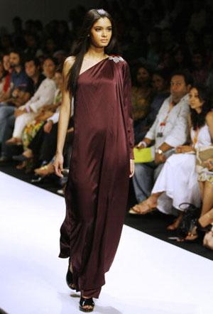 Тhe Lakme Fashion Week in Mumbai. Фото: INDRANIL MUKHERJEE/AFP/Getty Images