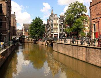 Амстердам - місто каналів і мостів. Фото: Ірина Рудська / The Epoch Times