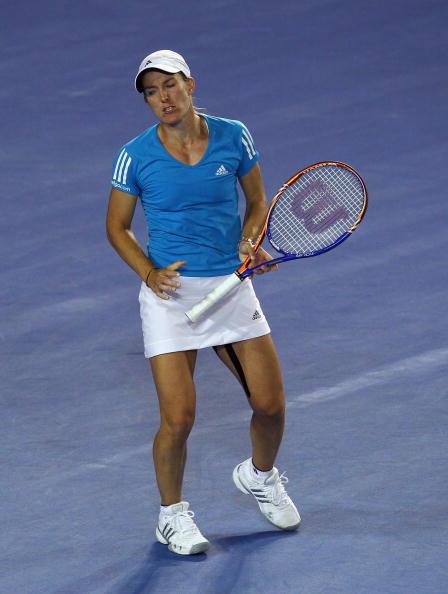 Серена Вильямс-Жюстин Енен фото:WILLIAM WEST, GREG WOOD /Getty Images Sport
