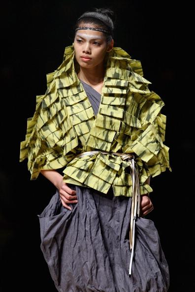 Презентація колекції KAVON He Shujun весна / літо 2011 на Тижні моди в Пекіні, Китай. Фото Feng Li/getty Images