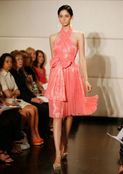 Колекція жіночого одягу Badgley Mischka 2009/Фото: Getty Images