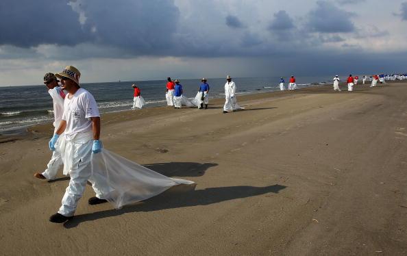 Екологічна катастрофа. Вилив нафти в Мексиканській затоці називають «американським Чорнобилем». Фоторепортаж. Фото: Win McNamee / Getty Images