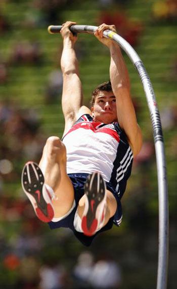 Мюнхен. Германия.  Steven Lewis из Великобритании во время Кубка Европы-2007 по лёгкой атлетике.  Фото: Ian Walton/Getty Images