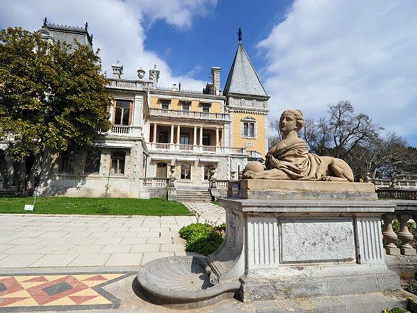 Масандрівський палац. Фото: allkrim.ru