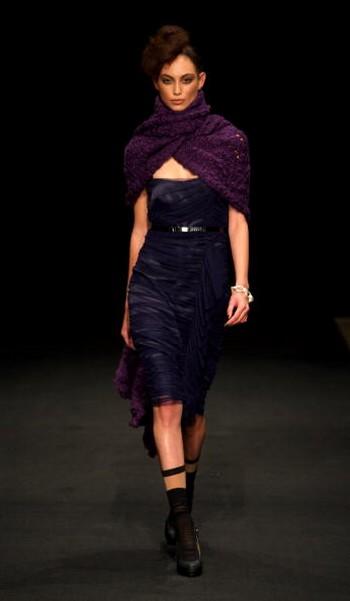 Колекція від дизайнерів Andrea Moore & Silverdale, яка була представлена на Тижні моди в Новій Зеландії 23 вересня. Фото: Phil Walter/getty Images