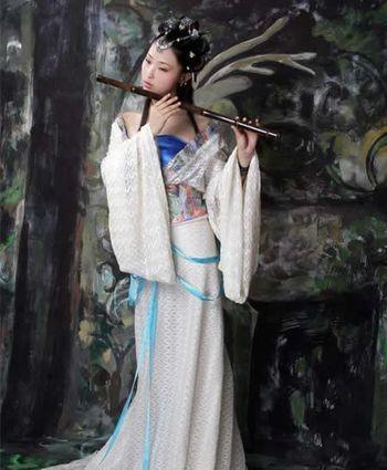 Женские костюмы Древнего Китая. Фото с secretchina.com