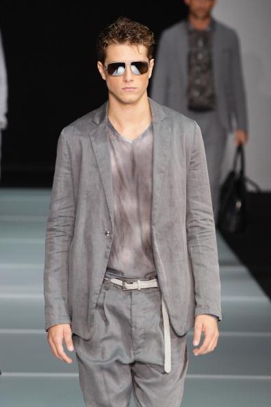 Emporio Armani від Джорджо Армані (Giorgio Armani) на Міланському тижні моди представив свою колекцію «Легкість». Фото: Vittorio Zunino Celotto/Getty Images