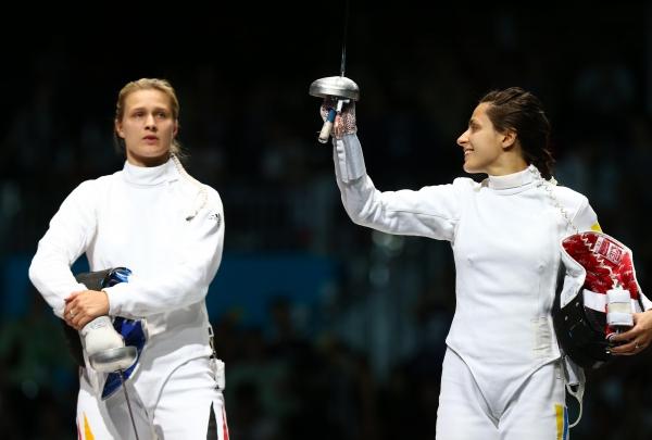 Яна Шемякина (справа). Фото: Getty Images Sport