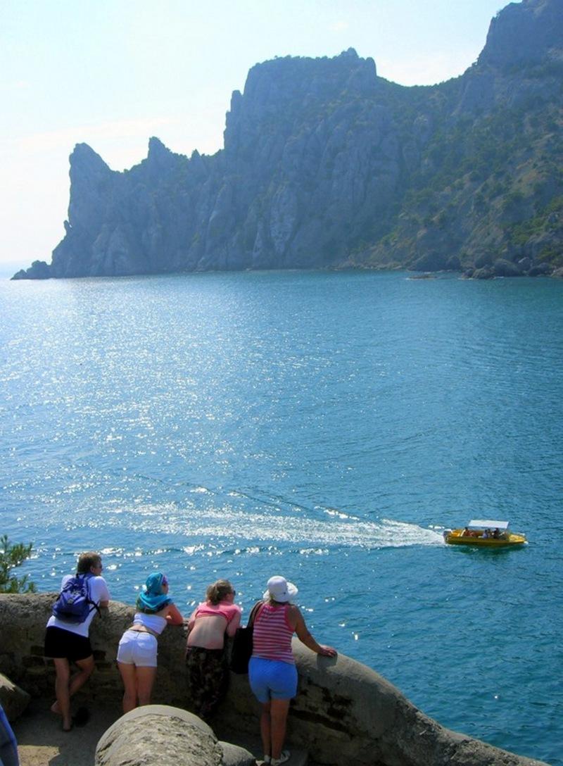 Новий світ, Крим, вид зі стежки на Блакитну бухту. Фото: Алла Лавриненко/Велика Епоха