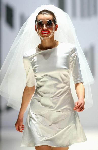 Свадебные платья от Агнэ Кузмикайте (Agne Kuzmickaite) Фото: PETRAS MALUKAS/AFP/Getty Images