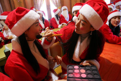 Школа Санта Клаусов в Южной Корее. Фото: Chung Sung Jun/Getty Images