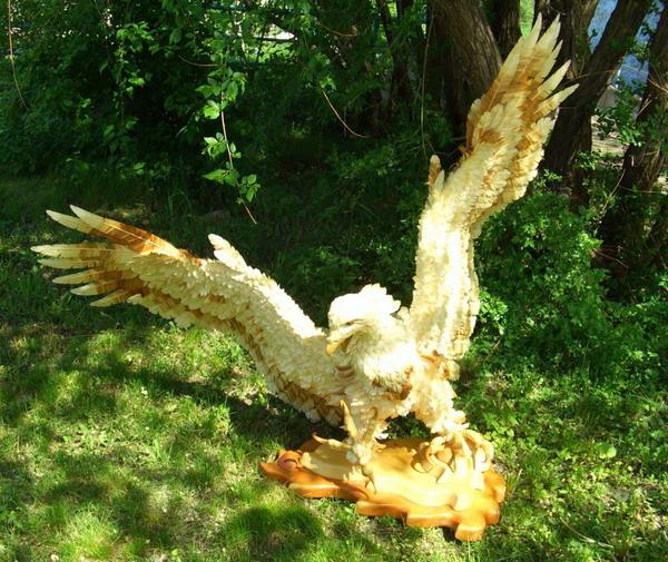Орлан великолепный. Сибирский кедр, ива, талина. Дмитрий Пономаре/The Epoch Times