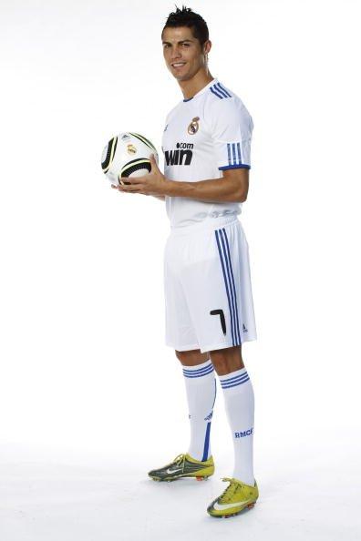 Криштиану Роналду в футболке Реала. Фото: realmadrid.ru