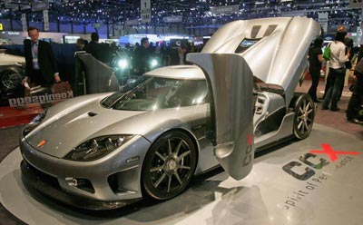 Koenigsegg CCR. Фото: Scott Barbour/Getty Images