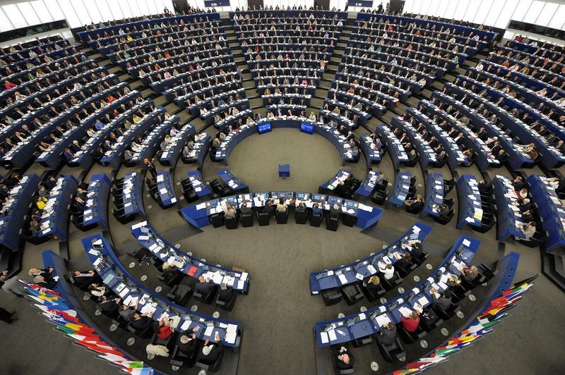 Страсбург, Франція, 13 червня. Голосування на сесії Європарламенту. Фото: FREDERICK FLORIN/AFP/Getty Images