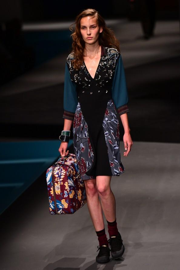 Prada Menswear на Миланской неделе мужской моды. Фото: GIUSEPPE CACACE/AFP/Getty Images