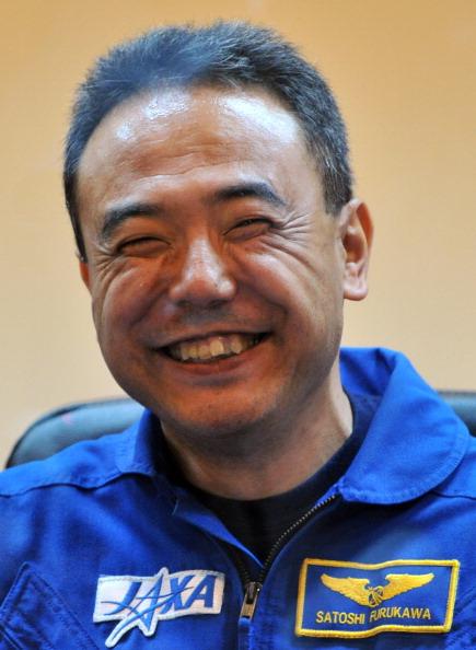 Японский космонавт Сатоши Фурукава. Фото: VYACHESLAV OSELEDKO/AFP/Getty Images