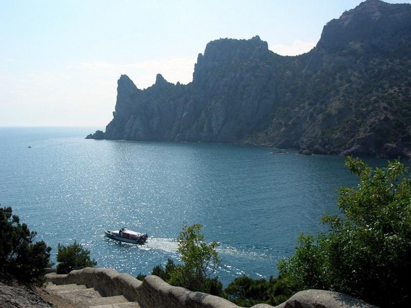 Крым, Новый свет, голубая бухта. Фото: Алла Лавриненко/Великая Эпоха
