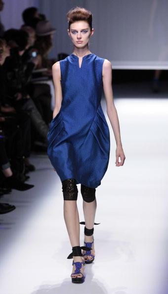 Коллекция от тайваньского дизайнера Shiatzy Chen на Неделе моды в Париже/PIERRE VERDY/AFP/Getty Images