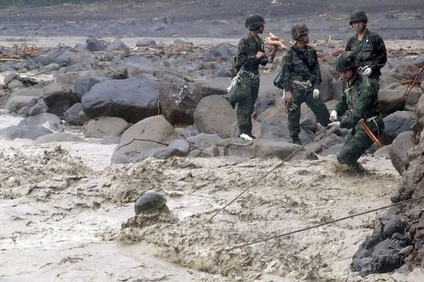 Последствия тайфуна «Моракот» в Тайване и континентальном Китае. Фото: ЦАН