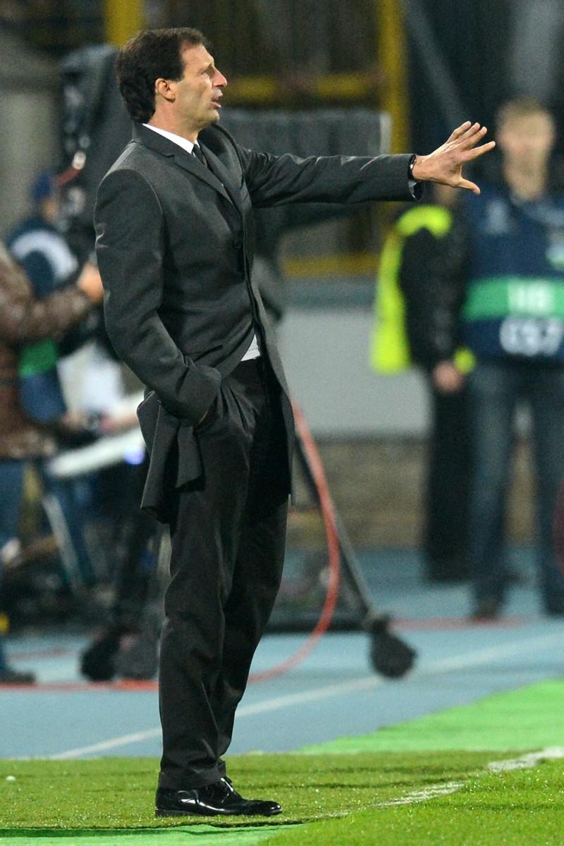 Мілан подолав Зеніт у запеклому поєдинку. Фото: KIRILL KUDRYAVTSEV/AFP/Getty Images