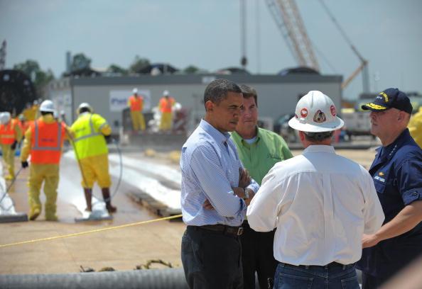 Барак Обама в регіоні екологічної катастрофи. Фоторепортаж. Фото: MANDEL NGAN / AFP / Getty Image