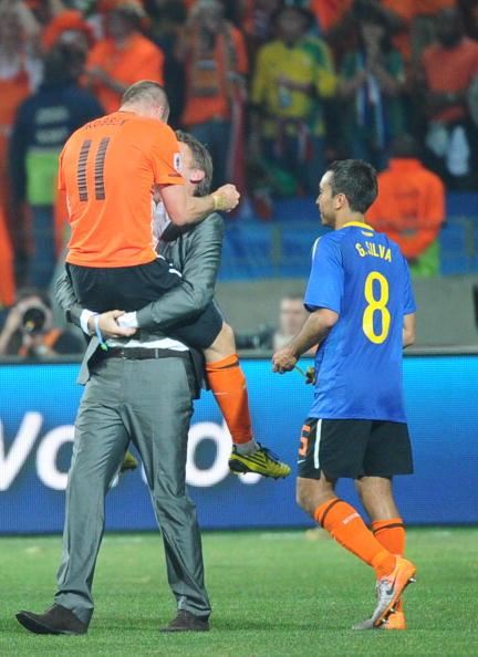 Голландия - Бразилия Фото: Richard Heathcote, Lars Baron /Getty Images Sport