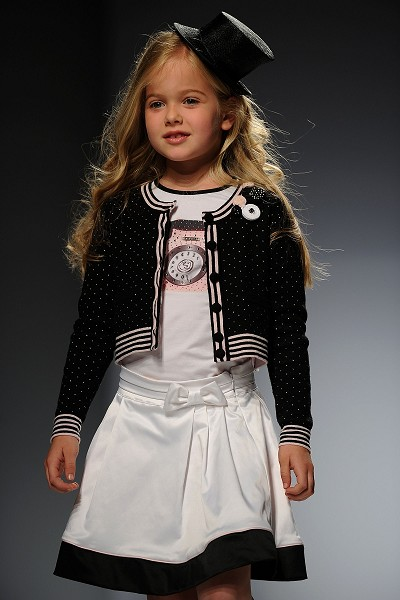 Детская Неделя моды Pitti Immagine сезона весна-лето 2011 в Италии. Фото: Getty Imges