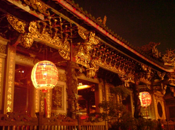 Храм Луншань. Тайвань. Фото: blog.coa.gov.tw