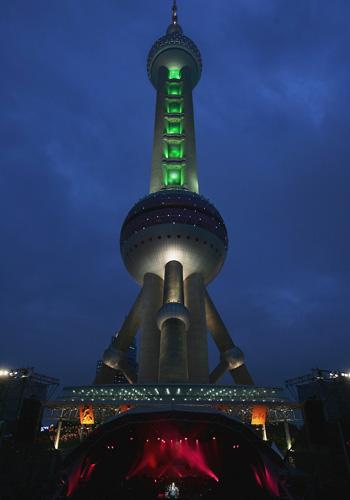 Oriental Pearl TV Tower в Шанхае (Китай). Фото: Guang Niu / Getty Images