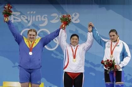 Ольга Коробка завоевала серебро Пекина-2008. Фото AP