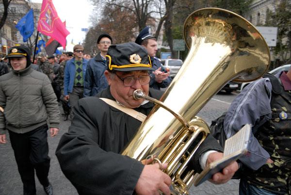 Марш за визнання УПА пройшов у Києві. Фото: Володимир Бородін / The Epoch Times