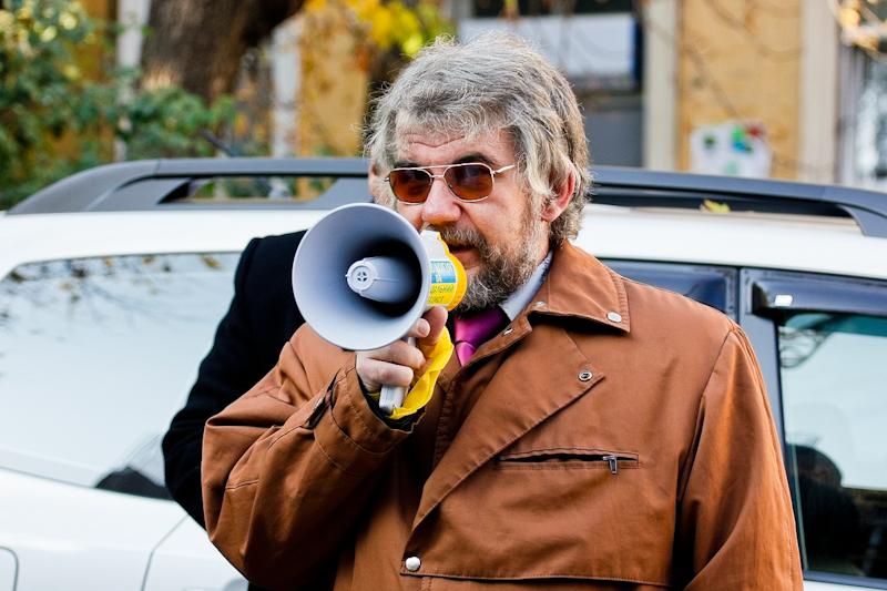 Представитель Штаба обороны Киева Александр Мечевра. Фото: Евгений Довбуш/The Epoch Times Украина