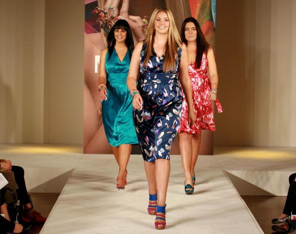 В Сиднее прошел показ модной коллекции Myerсезона весна-лето. Фото: Mike Flokis/Getty Images