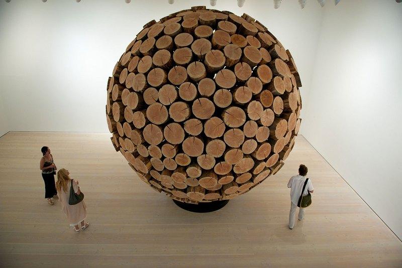 Лондон, Англия, 25 июля. В галерее Саатчи открылась выставка современного корейского искусства «Корейский глаз». Фото: Felix Kunze/Getty Images for Korean Eye