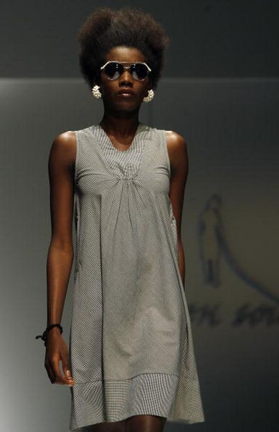 Неделя моды в Кейптауне, ЮАР. Фото: АFP