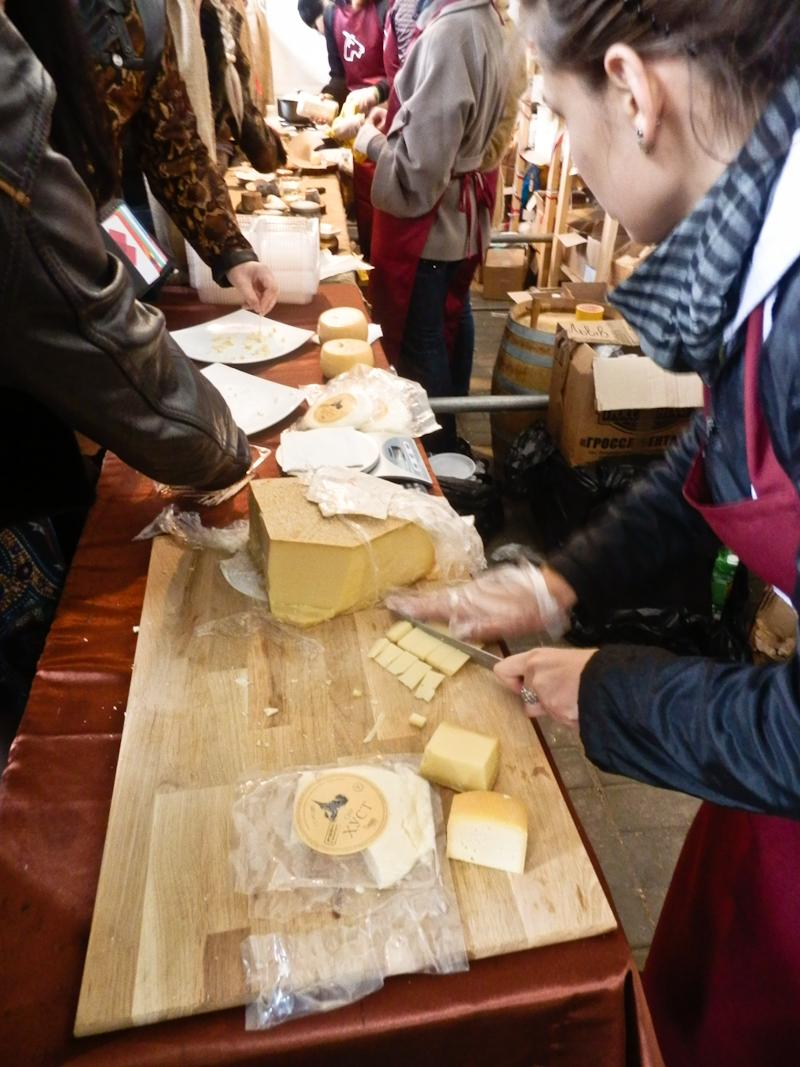 Львовский праздник вин и сыра. Фото: Виктор Гаврилив/The Epoch Times Украина