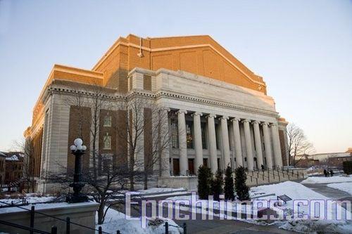 Фасад театра «Northrop». Фото: Великая Эпоха