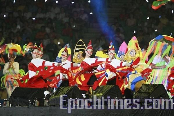 Церемония закрытия VIII Всемирных Игр. Город Гаосюн. Тайвань. 26 июля 2009 год. Фото: The Epoch Times