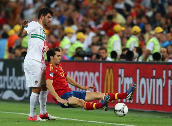 Португалія - Іспанія Фото: Lars Baron, Laurence Griffiths, Martin Rose /Getty Images Sport
