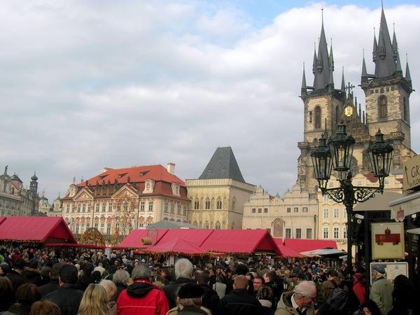 Пасхальная ярмарка на Староместской площади. Фото: Алла Лавриненко/The Epoch Times Украина
