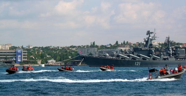 Спасение экипажа поврежденного корабля. Фото: Алла Лавриненко/The Epoch Times Украина
