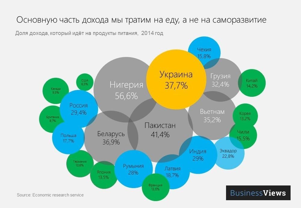 Инфографика: BusinessViews
