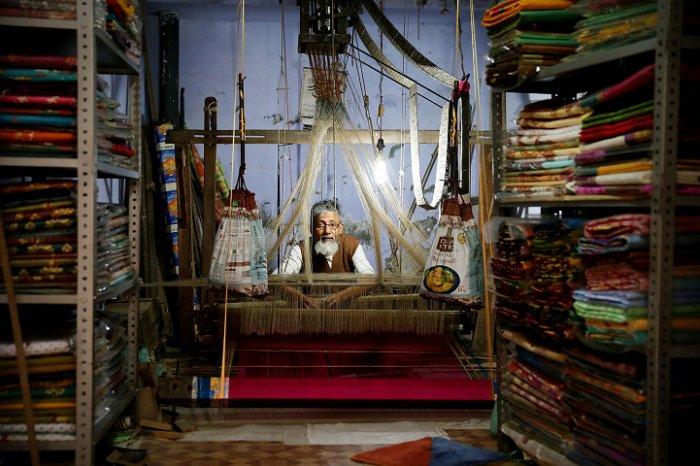 Победитель категории «Малый бизнес», «Сари-паук», Татьяна Шарапова, Россия. Фото: photocontest.cgap.org