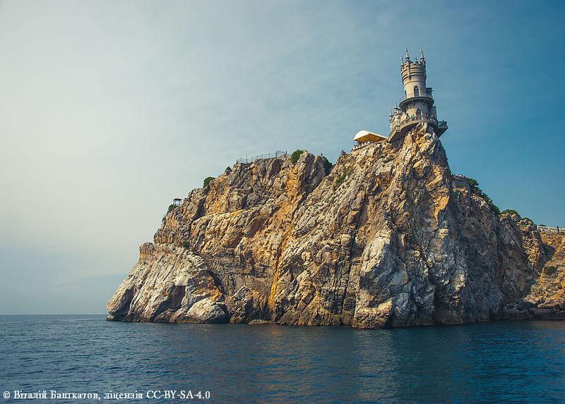 Восьмое место. Дворец «Ласточкино гнездо», АР Крым, Ялтинский горсовет, пгт Гаспра.