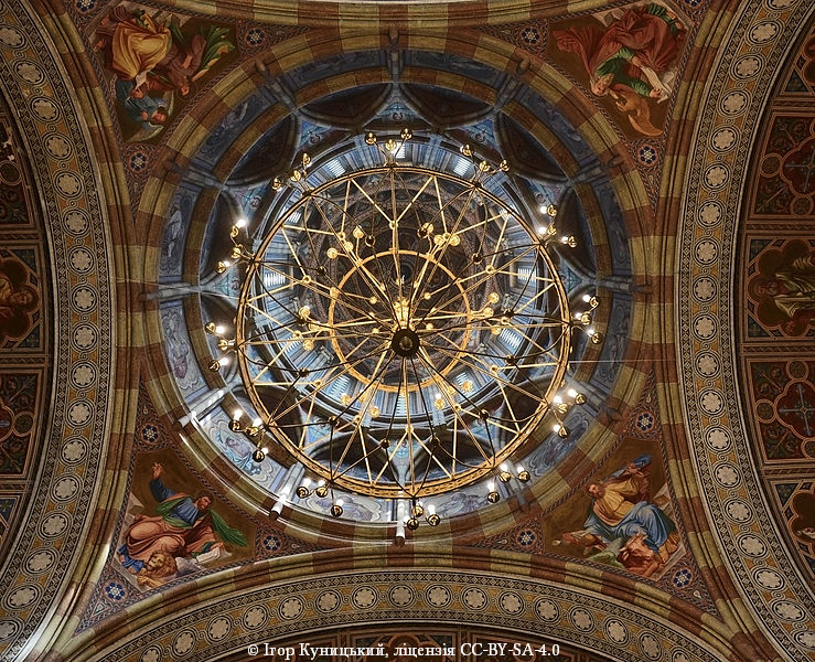 Девятое место. Семинарская церковь, часть комплекса резиденции митрополитов Буковины и Далмации, Черновцы.