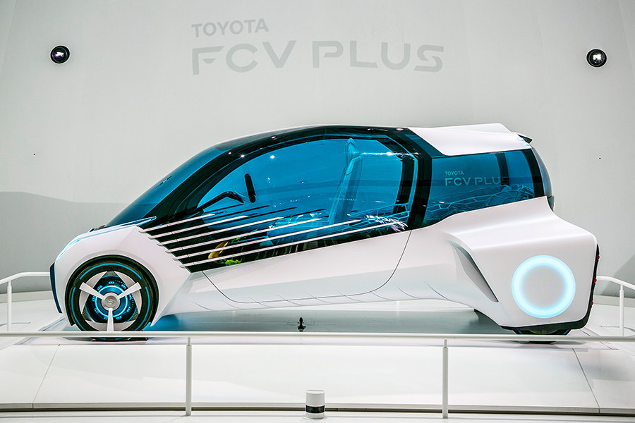 FCV Plus. Фото: toyota-global.com