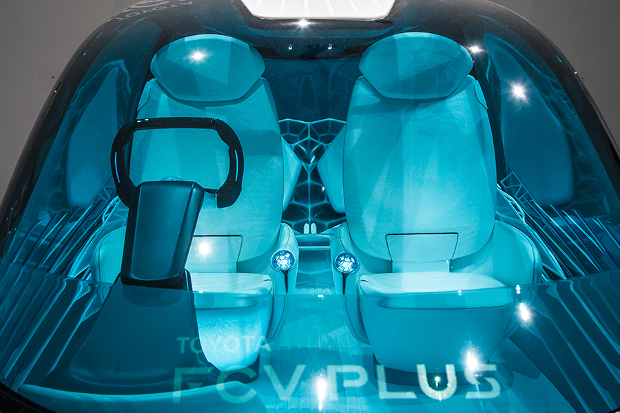 FCV Plus. Фото: toyota-global.com