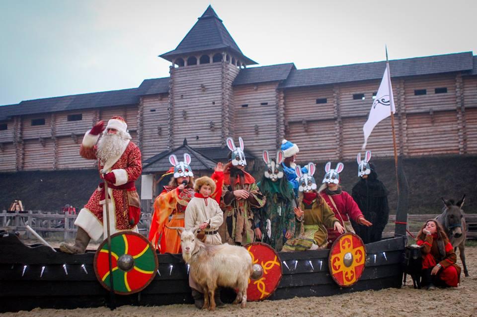 Фото: facebook.com/Новогодняя ночь в Древнем Киеве